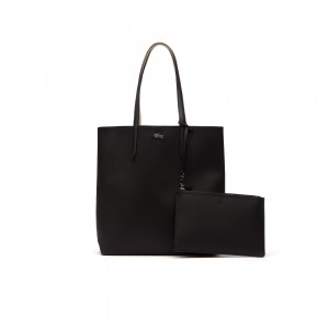 Womens Anna Reversible Bicolor Vertical Tote