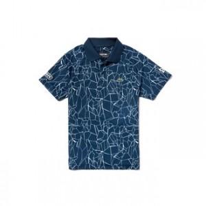 Boys SPORT Print Technical Jersey Polo- Lacoste x Novak Djokovic Off Court Premium Edition
