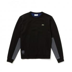 Mens SPORT Water-Resistant Fleece Tennis Sweatshirt