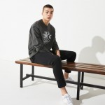 Mens Olympic Heritage Collection By Lacoste Cotton Sweatshirt