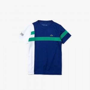 Boys SPORT Breathable Pique Colorblock T-shirt