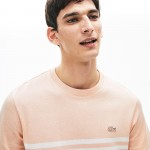 Men's Cotton-Linen Stripe T-shirt