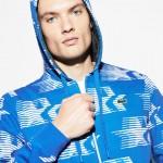 Mens Olympic Heritage Collection Zip Sweatshirt