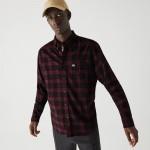 Mens Regular Fit Cotton Twill Checkered Shirt