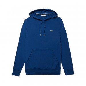 Mens Hooded Cotton Jersey Sweatshirt