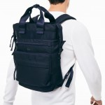Mens Techni-City Lightweight Nylon Backpack Tote