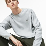 Mens Motion Crew Neck Coolmax Cotton Sweater
