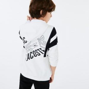 Girls' Vintage Style Hooded Fleece Zip Sweatshirt