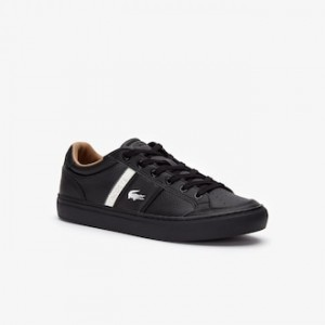 Mens Courtline Leather Sneakers