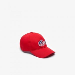 Mens American Flag Croc Cap