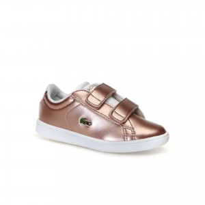 Infants Carnaby Evo Silver Synthetic Trainers