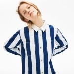 Womens LIVE Striped Cotton Shirtdress