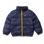 Boys Invisible Hood Quilted Jacket