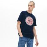 Mens LIVE Crew Neck Cotton T-shirt