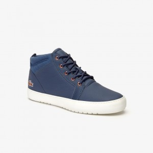 Womens Ampthill Leather Sneakers