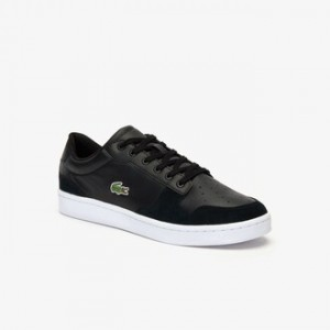 Mens Masters Cup Leather and Suede Sneakers