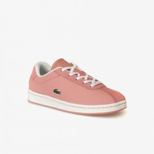 Childrens Masters Leather and Suede Sneakers
