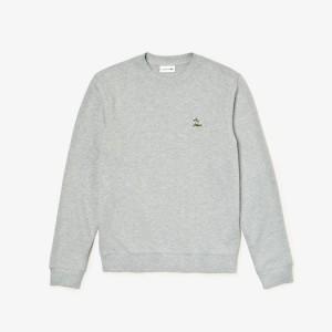 Mens Crew Neck Fleece Sweatshirt