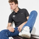 Mens Olympic Heritage Collection Logo Cotton Polo