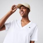 Women's V-Neck Premium Cotton T-Shirt