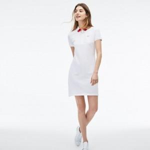 Womens Slim Fit Polo Pique Dress