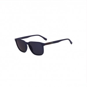 Mens Plastic Square Color Block Sunglasses