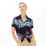 Womens Regular Fit Light Cotton Voile Shirt