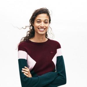 Womens Multi Color Design Sweater