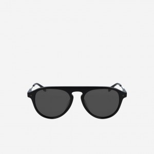 Oval Acetate One Top Bridge Sunglasses