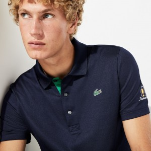 Mens Presidents Cup Breathable Stretch Jersey Golf Polo
