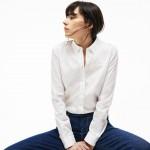 Womens Regular Fit Cotton Poplin Shirt