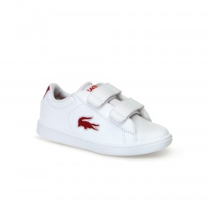 Infants Carnaby Evo White Synthetic and Textile Trainers