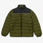 Mens SPORT Color-Blocked Water Resistant Quilted Jacket