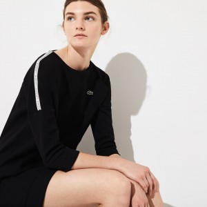 Womens SPORT Logo Tennis Sweatshirt Dress