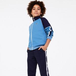 Boys' Two-Tone Vintage Style Zip Sweatshirt