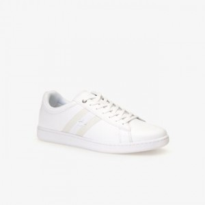 Mens Carnaby Evo Webbed Leather Sneakers