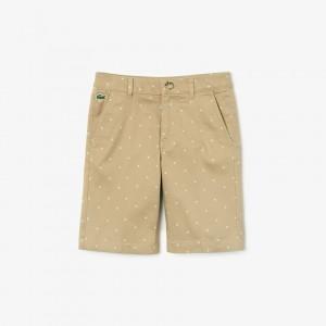 Boys Stretch Gabardine Shorts