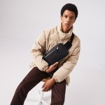 Mens Chantaco Leather Crossbody Bag