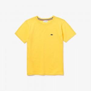 Boys Crew Neck Cotton Jersey T-shirt