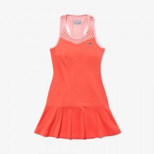 Womens SPORT Racerback Jersey Tennis Dress