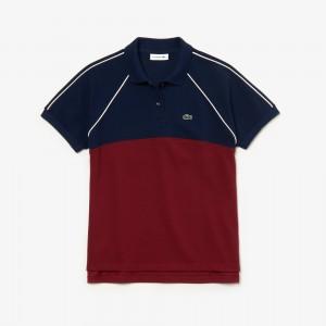 Womens Slim Fit Petit Pique Polo Shirt