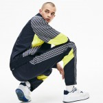 Mens LIVE Patchwork Trackpants