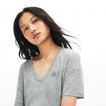 Womens Motion Lightweight Ribbed Lyocell T-Shirt