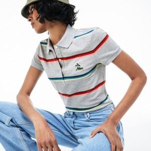 Womens Hooded Cotton Pique Polo Shirt