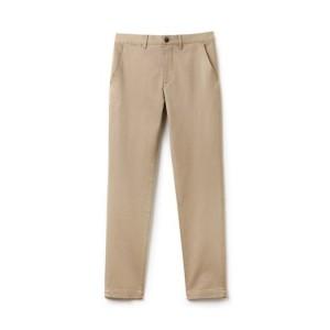 Mens Slim Fit Stretch Chino Pants