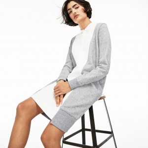 Womens LIVE Contrast Panels Fleece Polo Dress