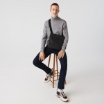 Mens Classic Petit Pique Flat Bag