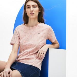 Womens Keith Haring Print Crew Neck Jersey T-shirt