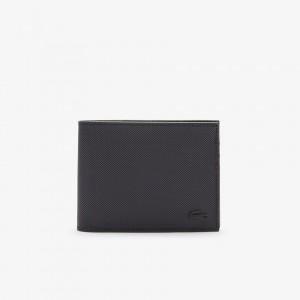 Mens Classic Petit Pique Six Card Wallet