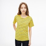 Womens Cotton And Linen T-Shirt